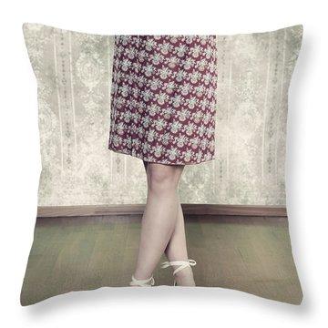 Self-confidence Throw Pillow by Joana Kruse