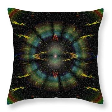 Separation Throw Pillow by Tim Allen