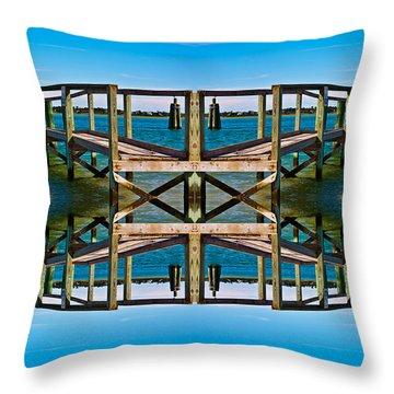 Serenity Throw Pillow by Betsy Knapp