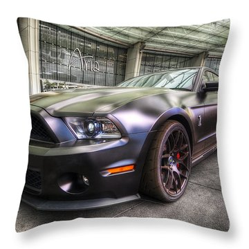 Shelby Gt500kr Throw Pillow by Yhun Suarez