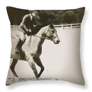 Showing Throw Pillow by Karol Livote
