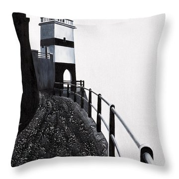 Silhouette 1 Throw Pillow by Mauro Celotti