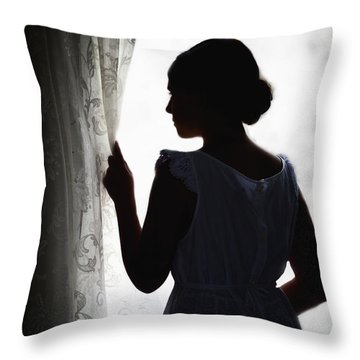 Simplicity Throw Pillow by Margie Hurwich