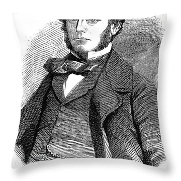 Sir Francis L. Mcclintock Throw Pillow by Granger