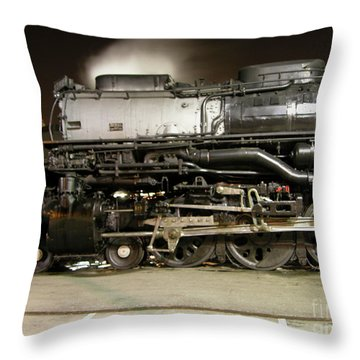 Sleeping Giant Throw Pillow by Tim Mulina