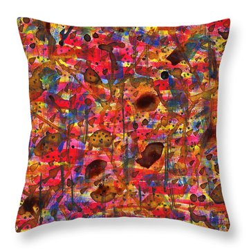 Slow Drip Throw Pillow by TB Schenck