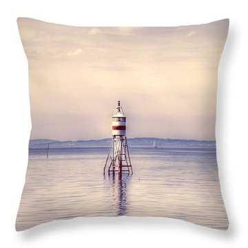 Small Lighthouse Throw Pillow by Joana Kruse