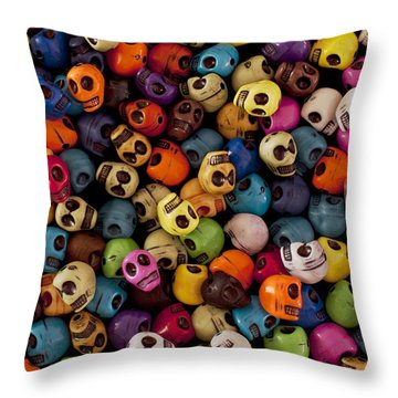 Smiles Throw Pillow by Mike Herdering