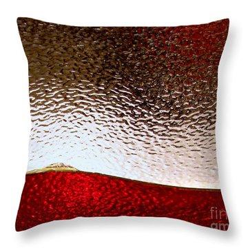 Solar Winds Throw Pillow by Peter Piatt