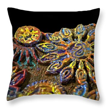 Something Different Throw Pillow by Gwyn Newcombe
