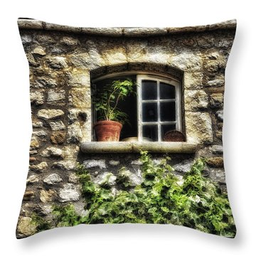 South Of France 2 Throw Pillow by Mauro Celotti