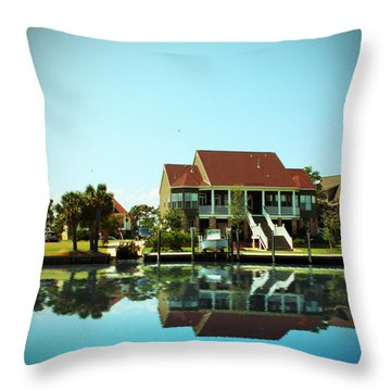 Southern Living Throw Pillow by Barry Jones