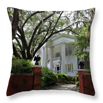 Southern Living Throw Pillow by Karen Wiles