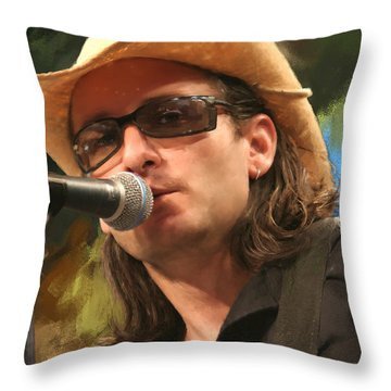 Southern Voice Throw Pillow by Robert Smith