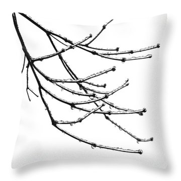 Speaking To Heaven Throw Pillow by Gwyn Newcombe