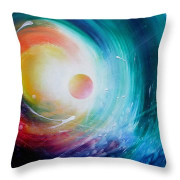 Sphere F31 Throw Pillow by Drazen Pavlovic