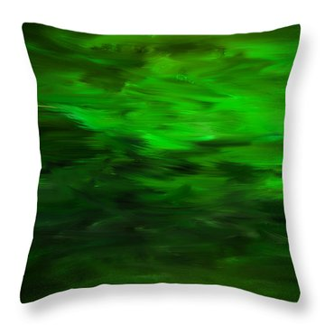 Spring As A New Life Throw Pillow by Lourry Legarde