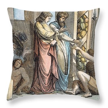 St Peter & St John Throw Pillow by Granger