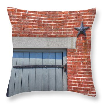 Stars And Stripes? Throw Pillow by Michael Garyet