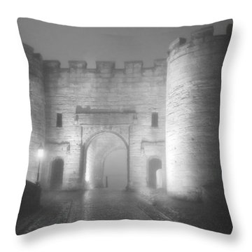 Stirling Scotland - Now That's A Castle Throw Pillow by Christine Till