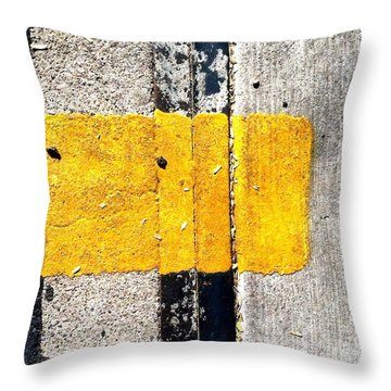 Streets Of Tucson 67 Throw Pillow by Marlene Burns