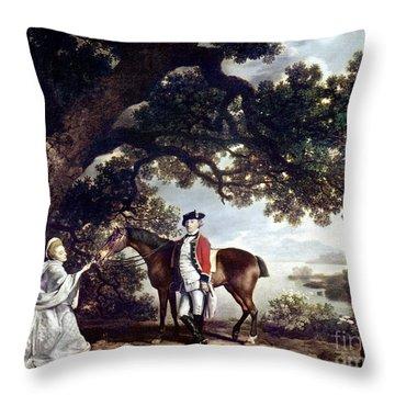 Stubbs Pocklington 1769 Throw Pillow by Granger