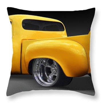 Studebaker Truck Throw Pillow by Mike McGlothlen