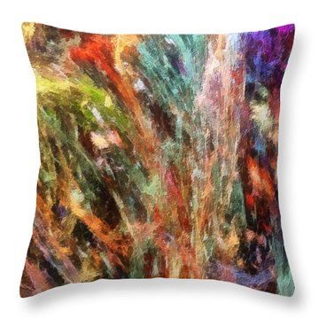 Substancial-a Throw Pillow by RochVanh