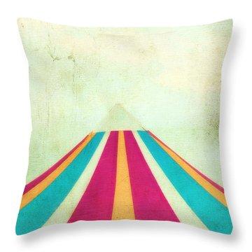 Summer Fun II Throw Pillow by Darren Fisher