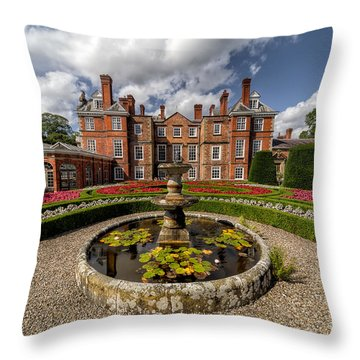 Summer Garden Throw Pillow by Adrian Evans
