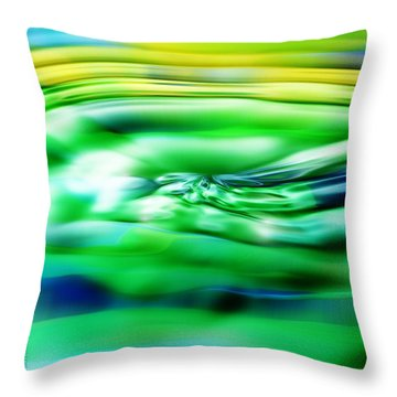 Summertime Throw Pillow by Mimulux patricia no