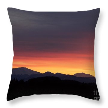 Sunrise 3 Throw Pillow by Chalet Roome-Rigdon