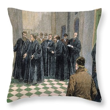 Supreme Court, 1881 Throw Pillow by Granger