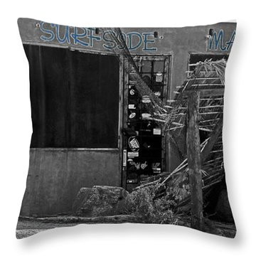 Surfside Market Throw Pillow by Cheryl Young