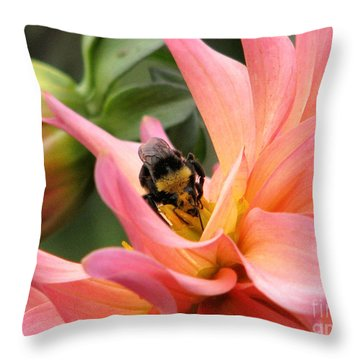 Sweet Nectar Throw Pillow by Rory Sagner