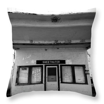 Sweetwater Throw Pillow by Jeff Lowe