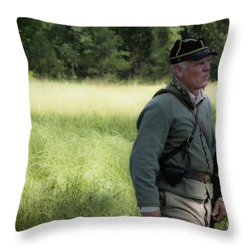 Sword At My Side Throw Pillow by Kim Henderson