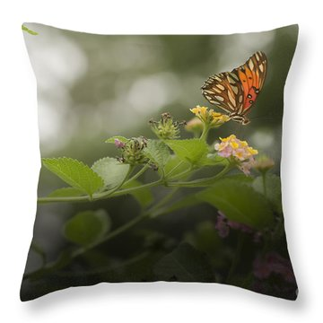 Talk To Me Throw Pillow by Kim Henderson