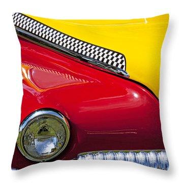 Taxi De Soto Throw Pillow by Garry Gay