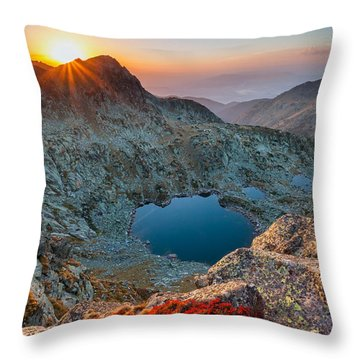 Tears Of The Giant Throw Pillow by Evgeni Dinev