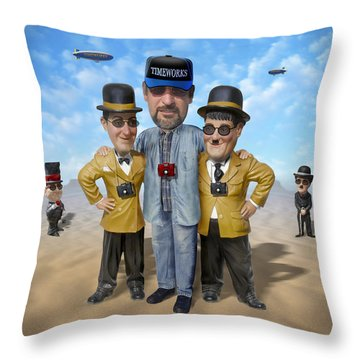 The Apprentice  Throw Pillow by Mike McGlothlen