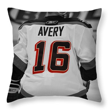 The Avery Throw Pillow by Karol Livote