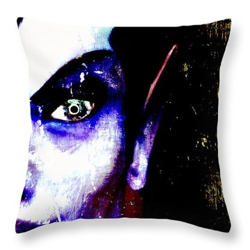 The Creature Within Throw Pillow by Russell Clenney