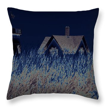 The Darkness Before The Dawn Throw Pillow by Luke Moore