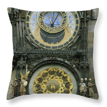 The Famous Astronomical Throw Pillow by Taylor S. Kennedy