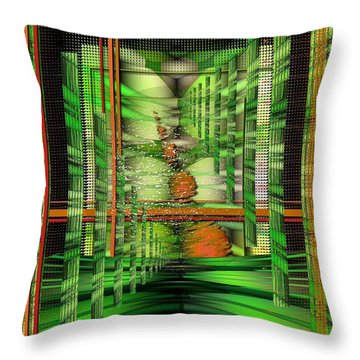 The Gateway To Broccoli Throw Pillow by Mimulux patricia no