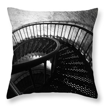 The Keeper's Flight Throw Pillow by Tony Cooper