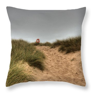 The Lifebelt 2 Throw Pillow by Steve Purnell