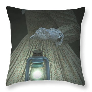 The Light Throw Pillow by Joana Kruse