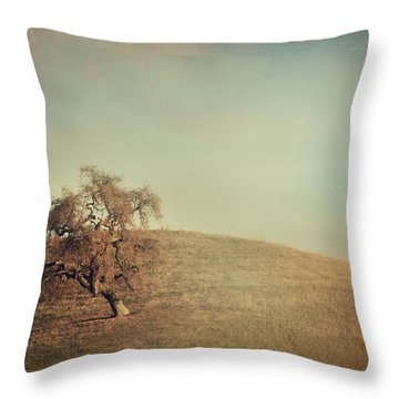 The Neverending Loneliness Throw Pillow by Laurie Search